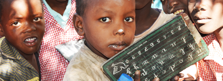 Evangelisk skola i muslimskt ökenland