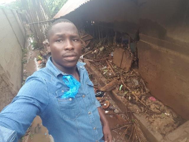 Isac Manuari Arlindo före detta elev på den bibelskola som SAM stödjer i Pemba.