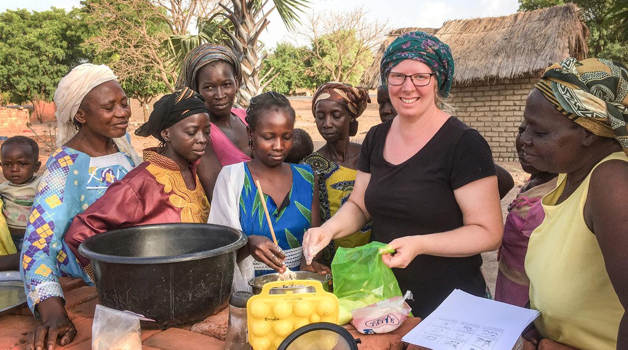 Hälsoklasser i Tchad höjer kunskapsnivån hos mödrar