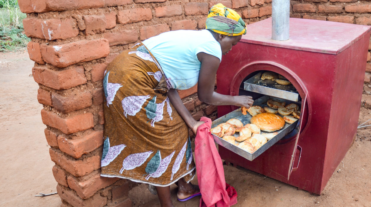 Doften av nybakade bullar i Malawi