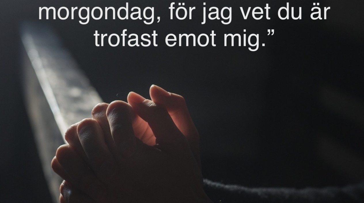 Kjell Larsson: Bön i tider av oro